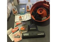 Vax carpet cleaning accessories attachments