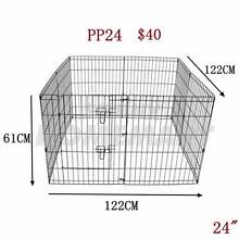 "24"" Playpen exercise enclosure metal 8 panels pet dog fold run Richlands Brisbane South West Preview"