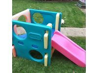 Little tikes 1st climbing frame with slide