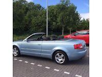 Audi A4 convertible 2003 1.8t