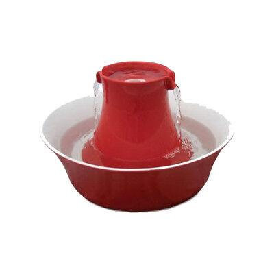 - PetSafe Drinkwell Avalon Ceramic Pet Fountain – Red