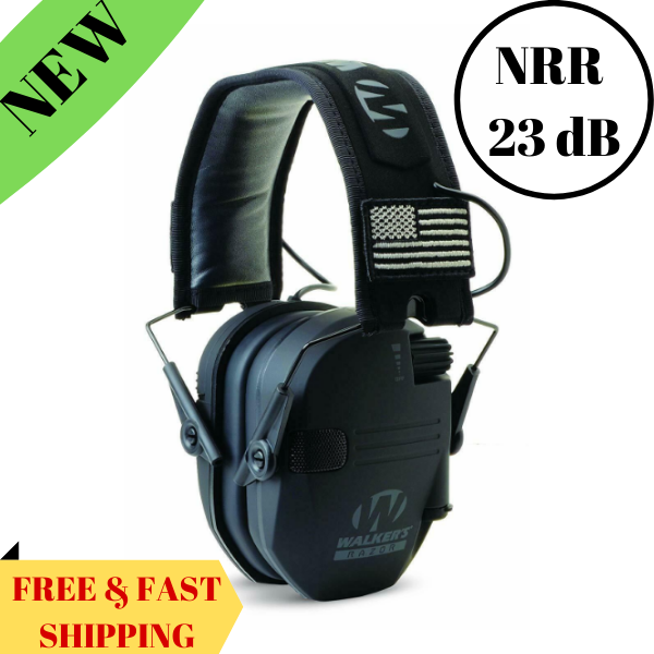 Electronic Ear Protection Muff for Shooting Range Noise Tact