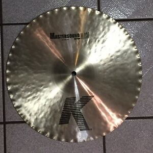 "Zildjian 14"" K Custom Mastersound Hats - LIKE NEW!"