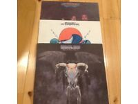 3 Brilliant LP's by the Eagles