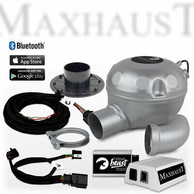 Maxhaust Soundbooster SET mit App-Steuerung für Mercedes R & S-Klasse, Sprinter