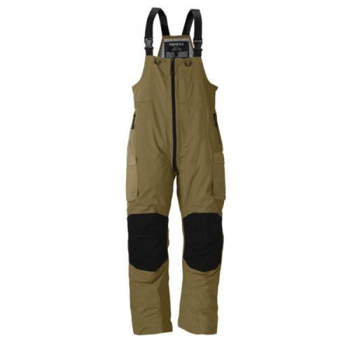 Frabill F3 Gale Bibs, Brown, XX-Large Rain & Ice Fishing Pants Bibs MSRP $250