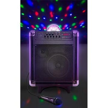 Alecto Bluetooth Speakerset Versterker Karaoke set Speaker