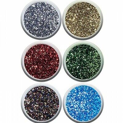 Ultra Fine Glitter 15g Pot Trimits In 10 Colours Nail Art, Eyes, Face Halloween  - Colouring In Halloween