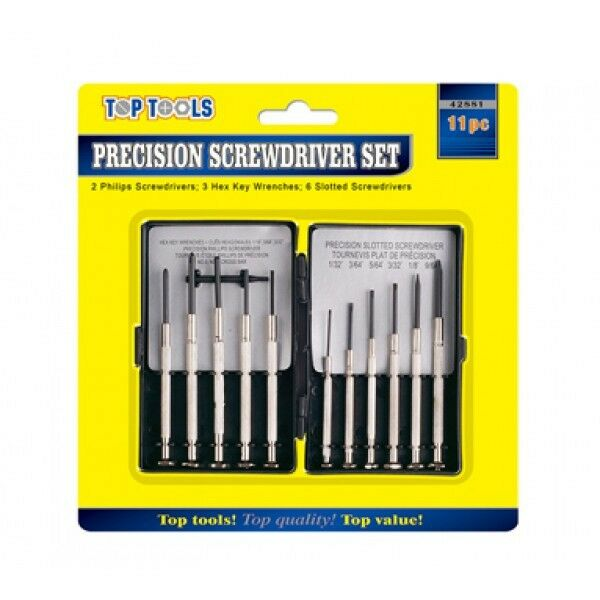 Jewellery - 11 Pc Precision Screwdriver Repair Set for Jewellery Watch Laptop Mobile Glasses