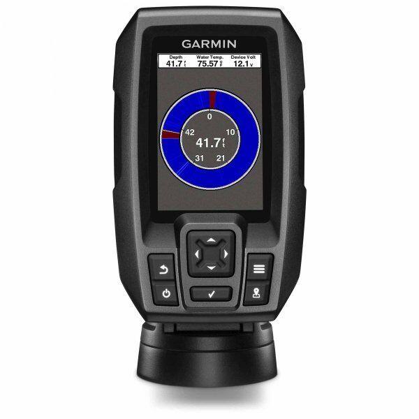Garmin STRIKER 4 CHIRP Fishfinder with Dual Beam Transducer and GPS 010-01550-00