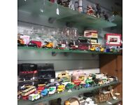 Collection model cars