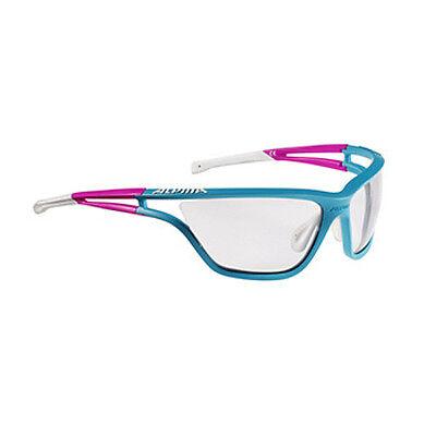 Alpina Fahrradbrille Sportbrille Eye-5 VL+ petrol-pink-white