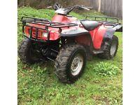 Honda trx 300 4x4 quad
