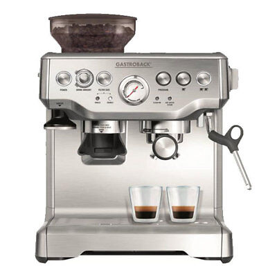 Gastroback Advanced Pro GS 42612 S Siebträger Espresso  Kaffeemaschine Edelstahl