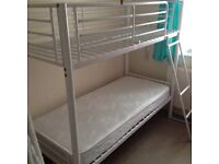 Shorty !!! 2,6 feet Metal Bunk Bed and 1 free Mattress