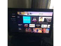 """LG 40"""" full HD TV - hdmis, usb, SCARTS, freeview"""