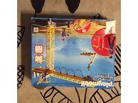 Playmobil wireless crane