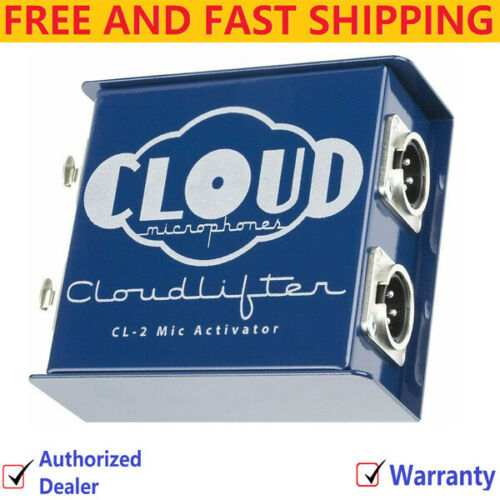 Cloud Microphones - Cloudlifter CL-2 Dynamic/Ribbon Mic Activator Inline Preamp