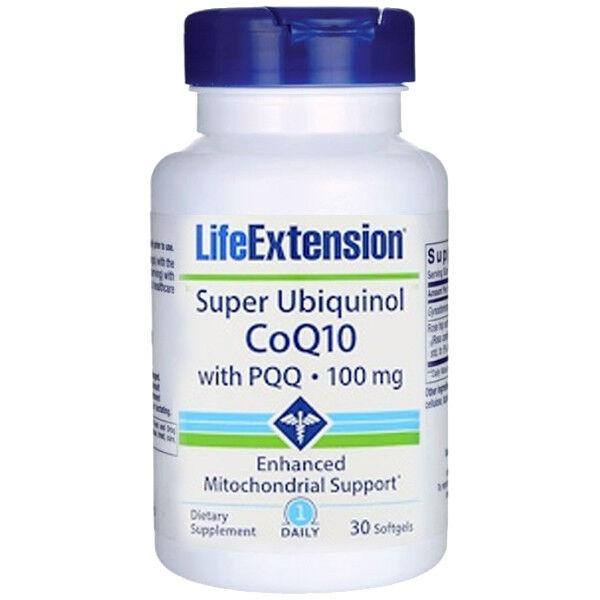 Life Extension - Super Ubiquinol CoQ10 with BioPQQ 100 mg. -