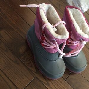 Botte d'hiver fille taille 24-25
