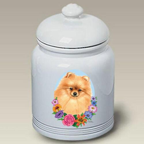Pomeranian Treat Jar