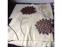 KS Duvet cover, pillowcases and matching curtains