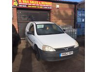 Corsa 1.7cdti van Nov mot swap or sell
