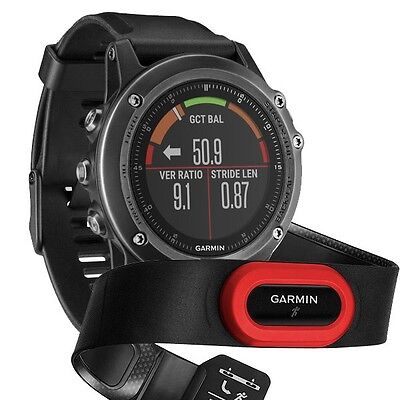 Garmin fenix 3 HR Multi-Sport Sapphire GPS Watch Performer Bundle 010-01338-73