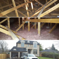 ATTIC INSULATION, INSULATION (SAVE MONEY)