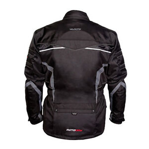 L Large MotoDry Velocity 3/4 Length Winter Touring Jacket Motorbike $219.95