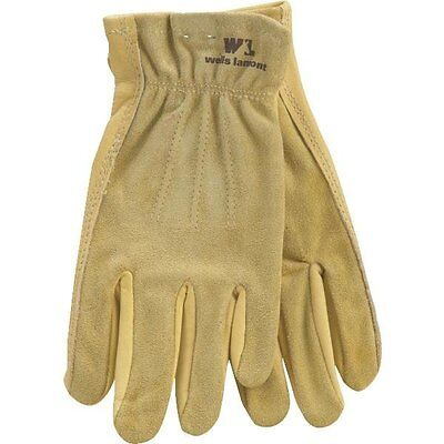 Wells Lamont Small Womens Grain Cowhide Leather Workriding Glove Farm Ranch