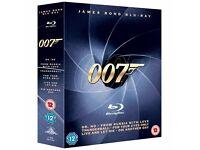 James Bond Blu Ray Box set - 6 films