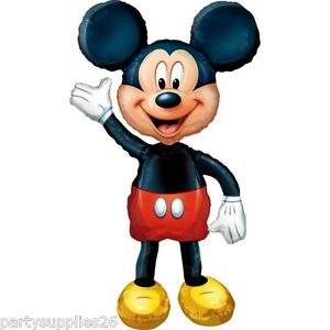 MICKEY MOUSE PARTY SUPPLIES MICKEY AIRWALKER 52 INCH SUPER SHAPE FOIL BALLOON