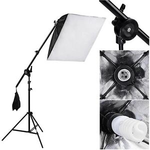 Photo Video Softbox Lighting Boom Kit - Brand New $49 SALE!!!
