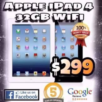iPad 4th Generation Retina Display 32 GB Wifi Only
