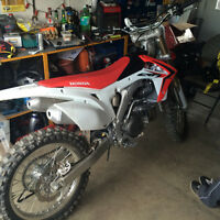 Trade brand new crf 450r for motorcycle