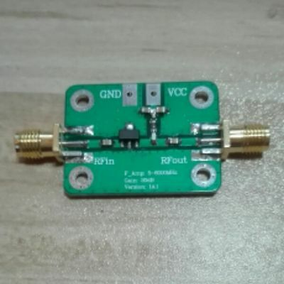 1pc 5m6000mhz Rf Power Amplifiers In Ultra Wideband 5m --- 6ghz 20db Gain