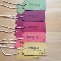 Homemade with love tags