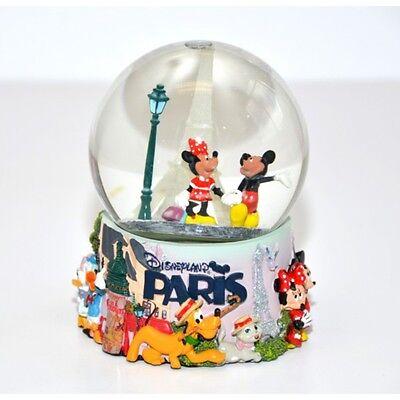 Disney Mickey and Minnie Mouse Light Up Snow Globe