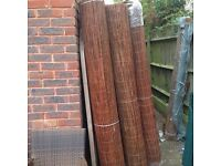 Willow screening - 4m long rolls
