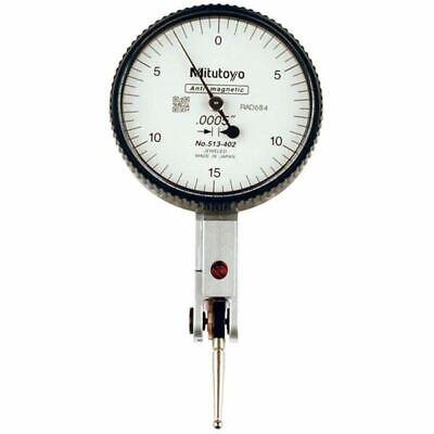 Mitutoyo 513-402 .030 Travel Quick Set Horizontal Dial Test Indicator