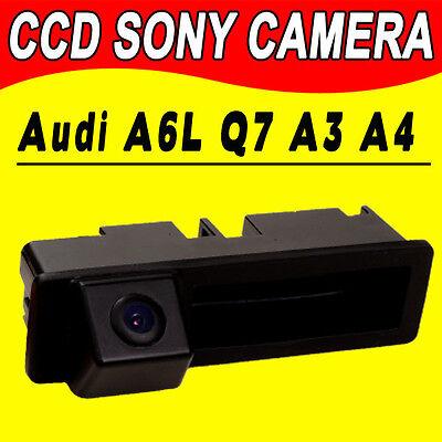 Trunk handle for Audi A4L A6L A8L A3 A4 Q7 car reverse rear view backup camera