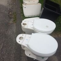 Free Toilets!! Well loved, looking to be re-homed