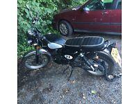 2015 Sinnis Scrambler 125cc