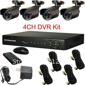 DVR Security Camera System with 4 Cameras & HDMI out *BRAND NEW*