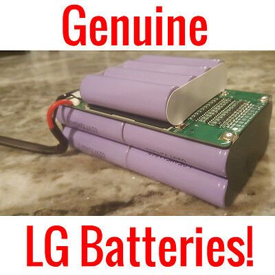 """BALANCING SCOOTER LG 36V 4.4AH LITHIUM ION REPLACEMENT BATTERY PACK 6.5"""" 8"""" 10"""""""