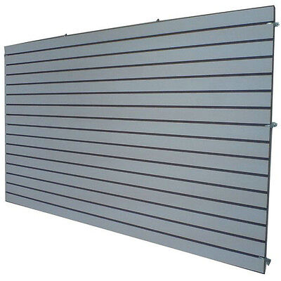 4 X 8 Gray Color Slatwall Panels
