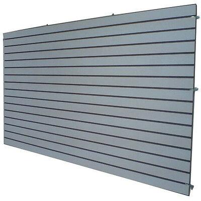 4 X 8 Gray Color Slatwall Panels