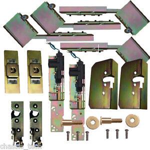 Suicide Door Hinges Hidden with Latches Strikers & Install Kit For 2 Doors
