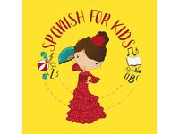 SPANISH FOR KIDS with native speakers is a fun and active way to learn Spanish